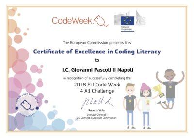 Eccellenza Code Week